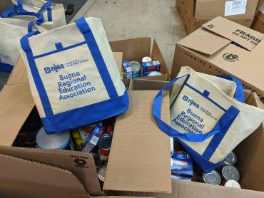 Buena Regional EA uses NJEA Pride funds to support local food banks