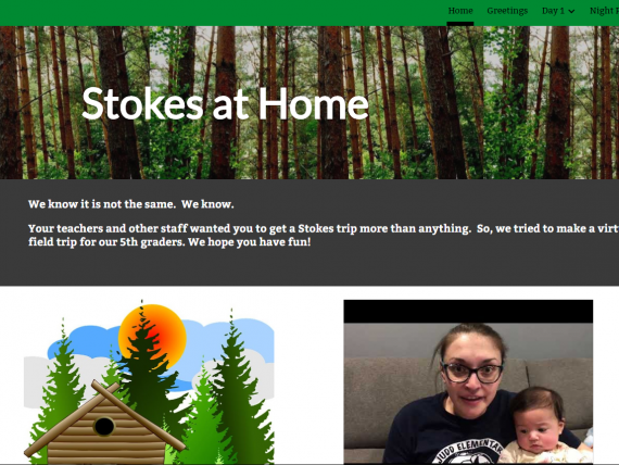 North Brunswick EA members create Stokes at Home experience for students