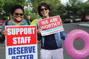 Job justice for educational support professionals