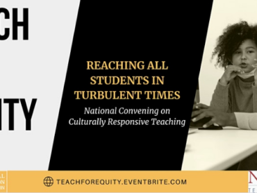 Free Teach for Equity online Conference opportunity for NEA members