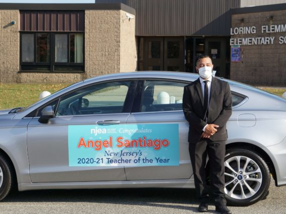 Angel Santiago named 2020-21 New Jersey State Teacher of the Year