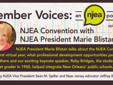NJEA Convention 2020 and Election Update with Marie Blistan and Sean M. Spiller